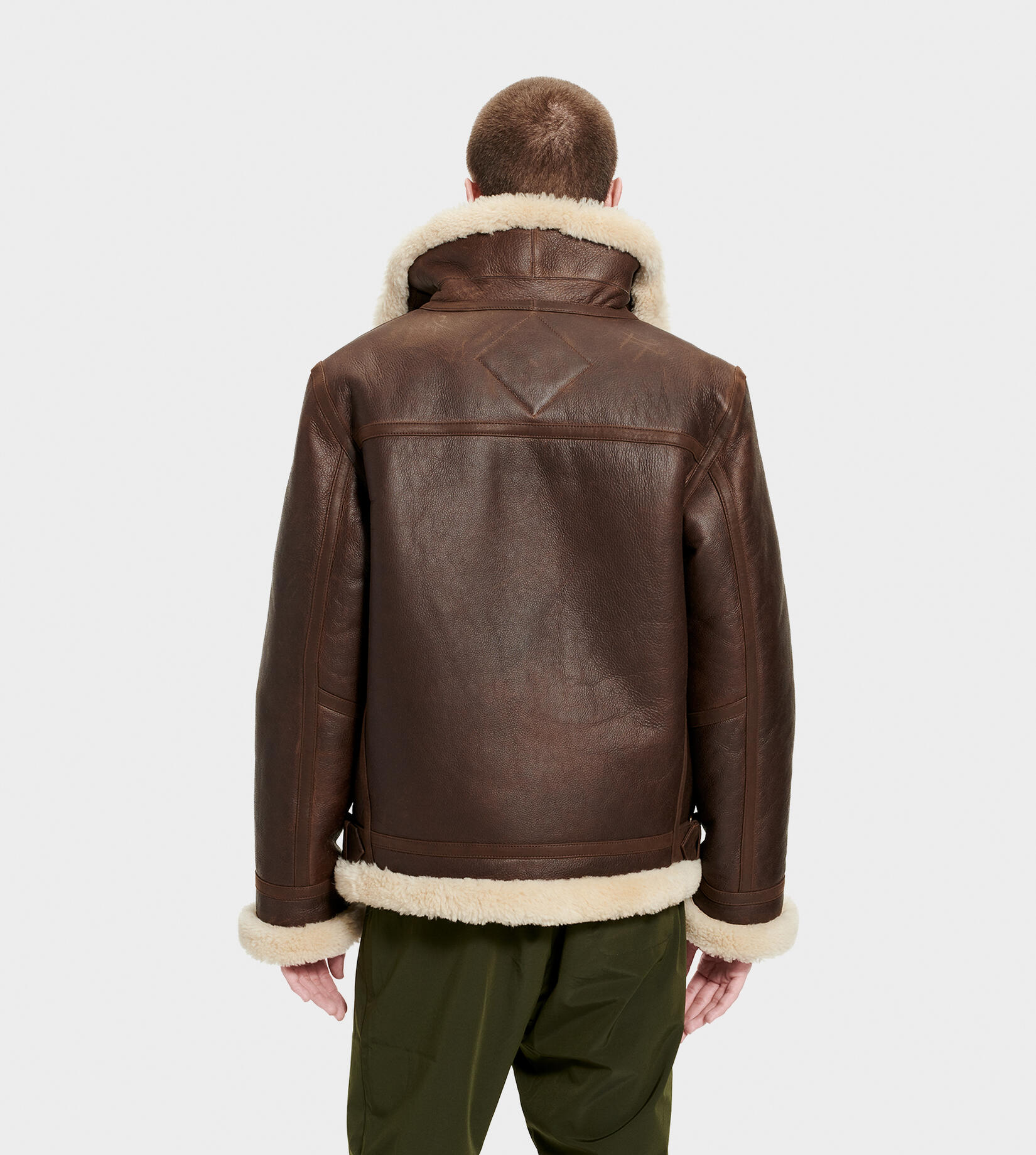 Auden Shearling Aviator Jacket