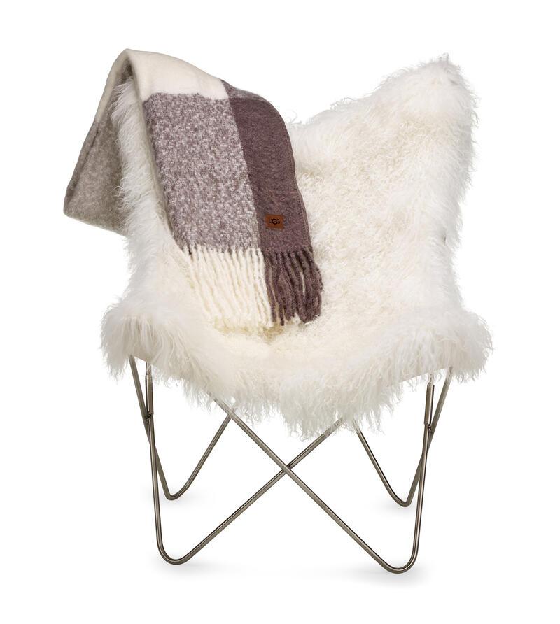 Mongolian Fur Butterfly Chair
