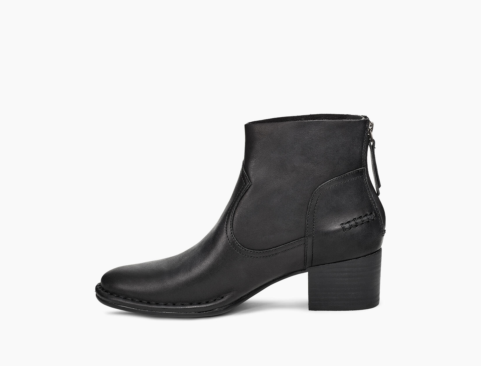 Bandara Leather Ankle Boot