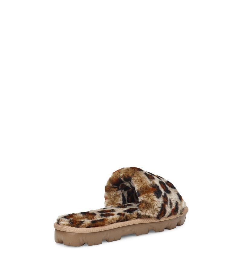 Cozette Leopard Chaussons