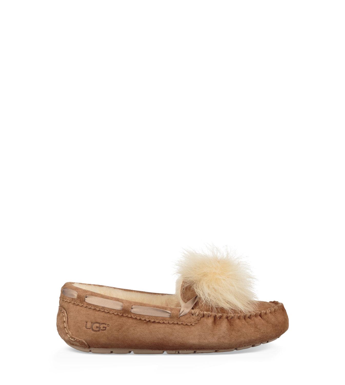 UGG® Dakota Pom Pom Pantoffels voor Dames | UGG® NL