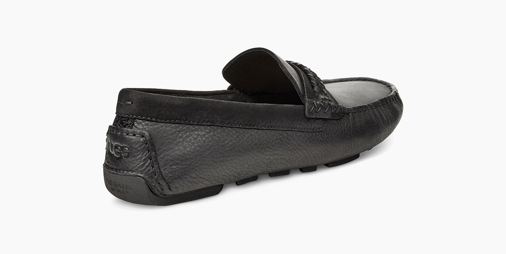 Henrick Leather Braid Moccasin