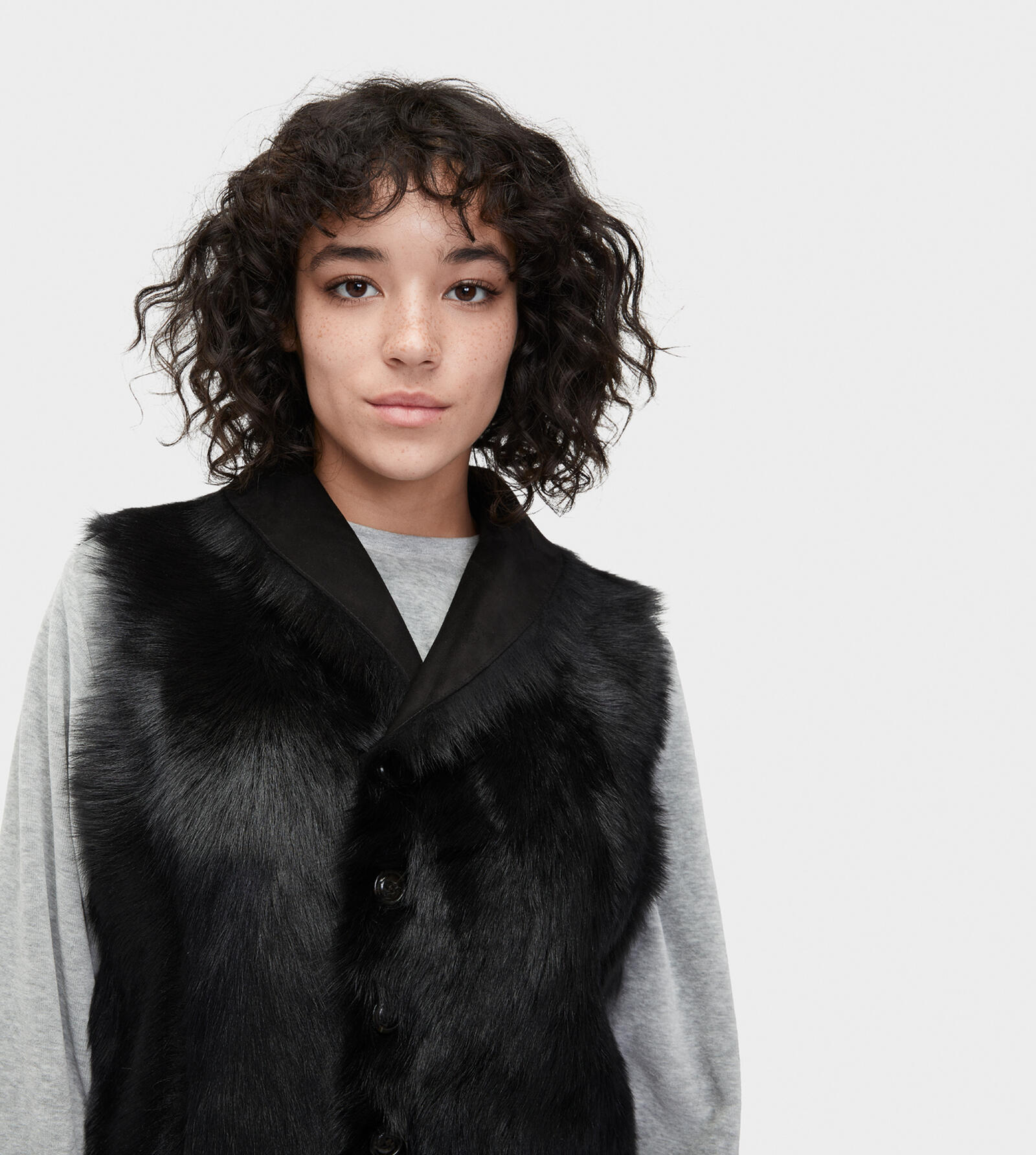 Renee Toscana Shearling Vest