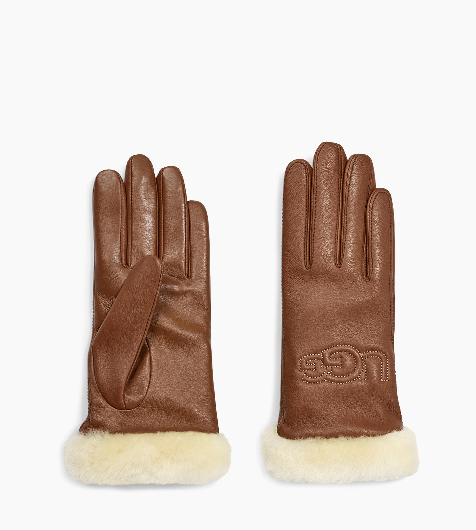 Classic Leather Logo Gants