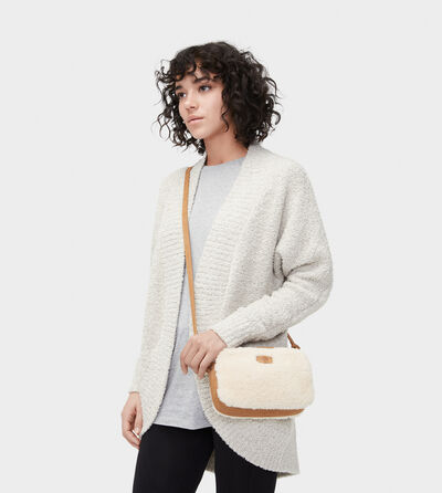 Janey Sheepskin Cross body Tassen