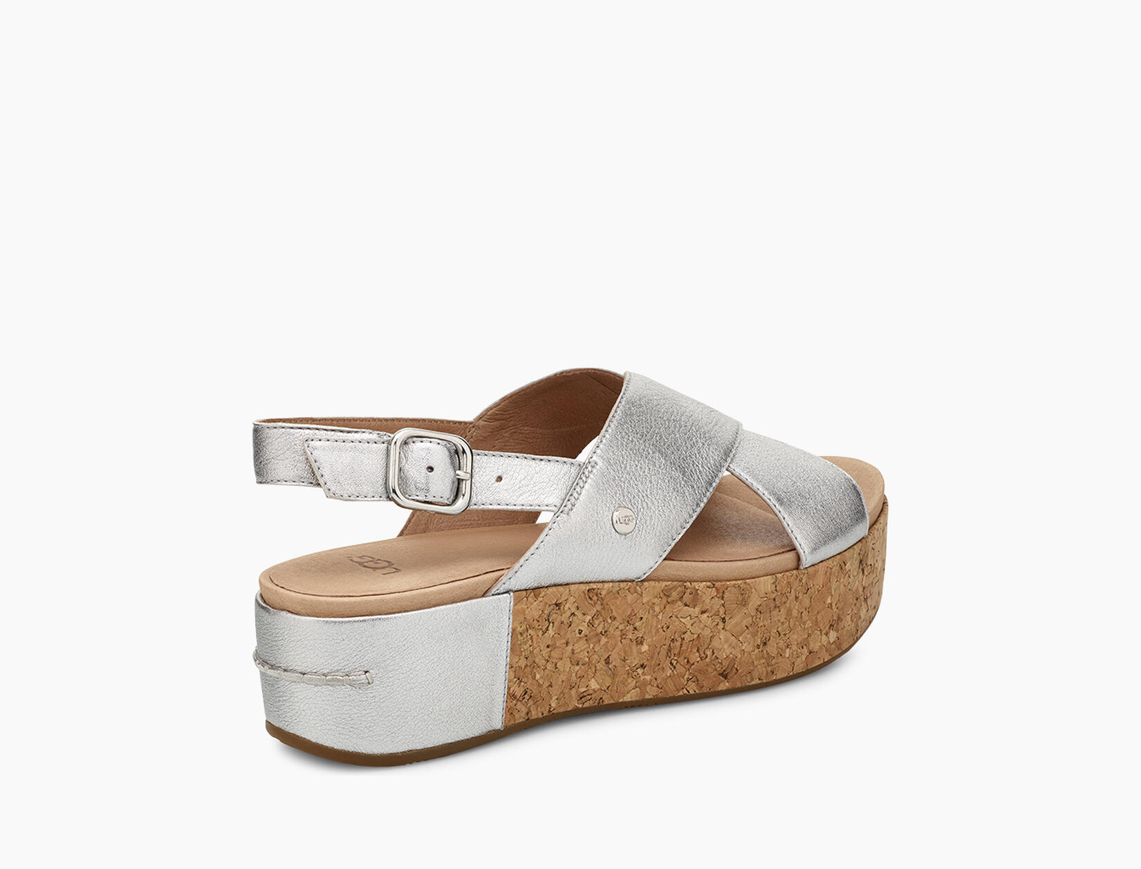Shoshana Metallic Platform Sandal