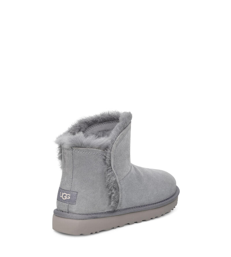 Classic Mini Fluff High-Low Boot