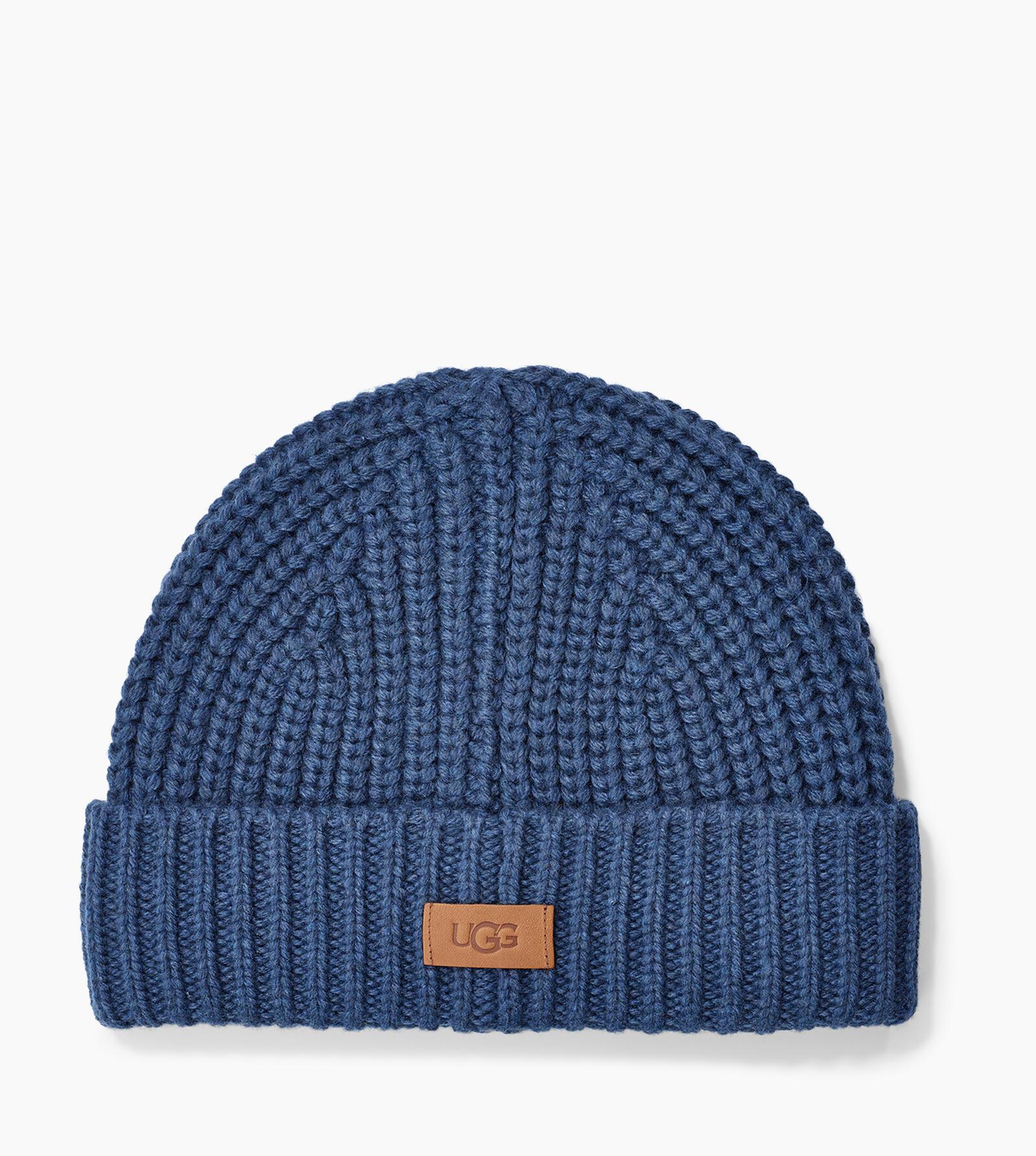 Rib Knit Cuff Mütze