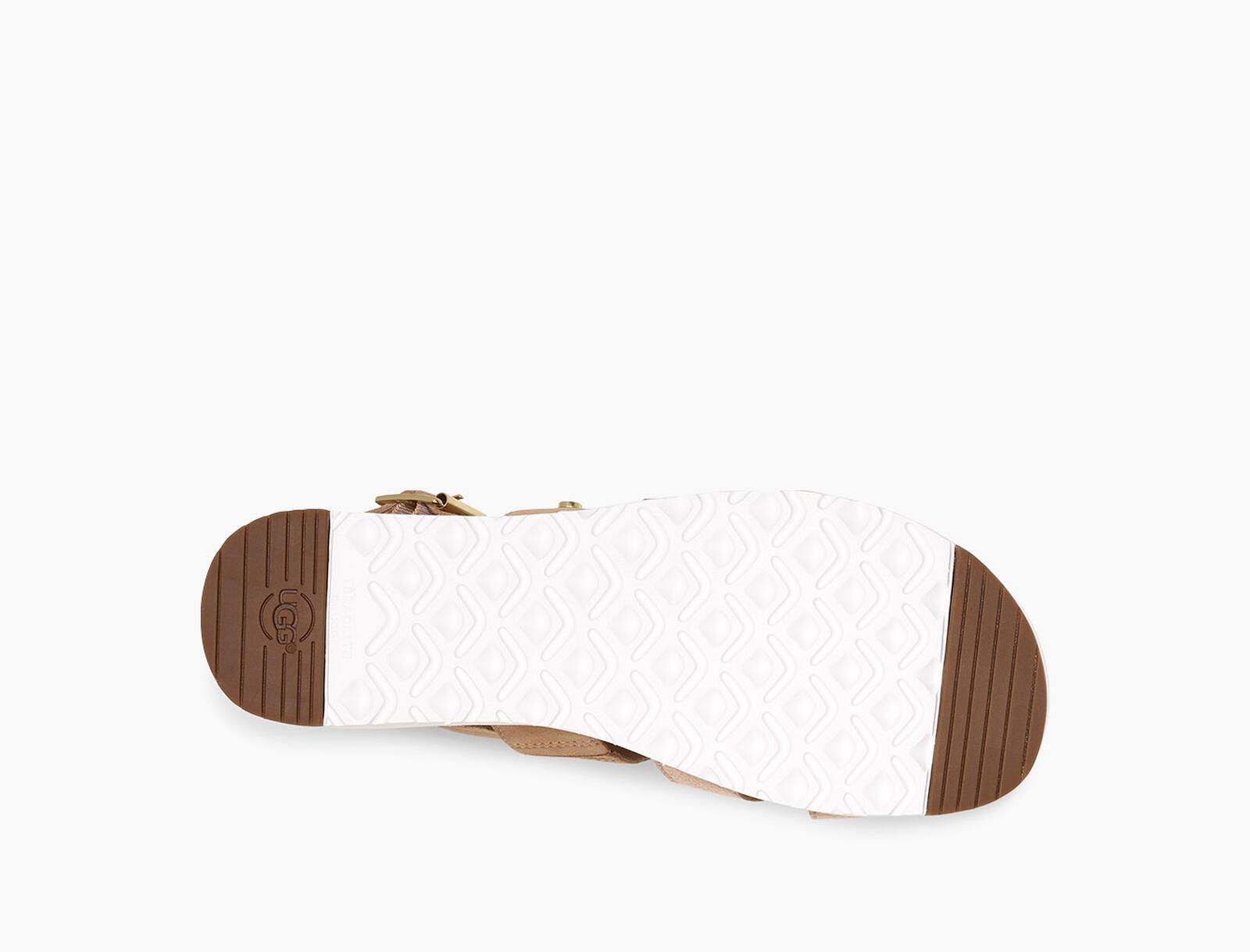Braelynn Metallic Platform Sandal