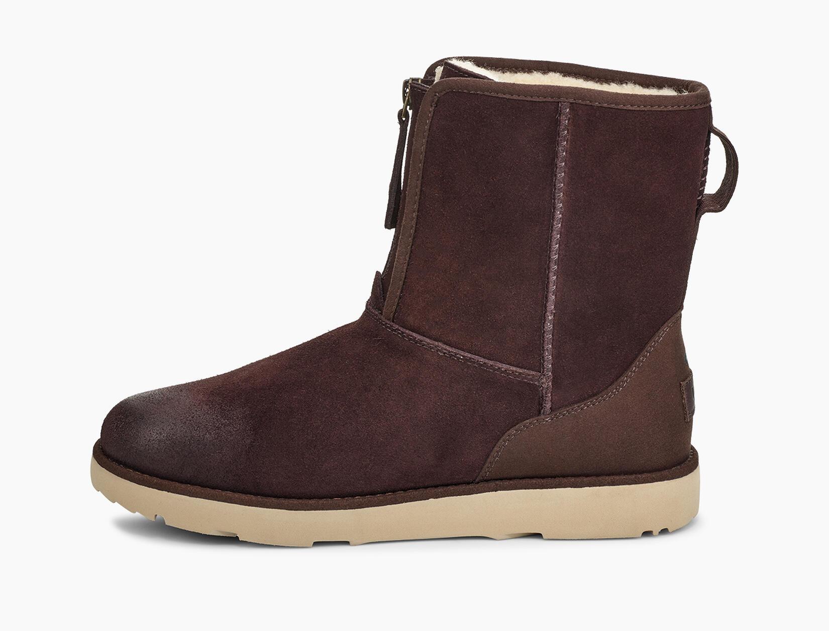 Classic Short Front Zip Waterproof Boot