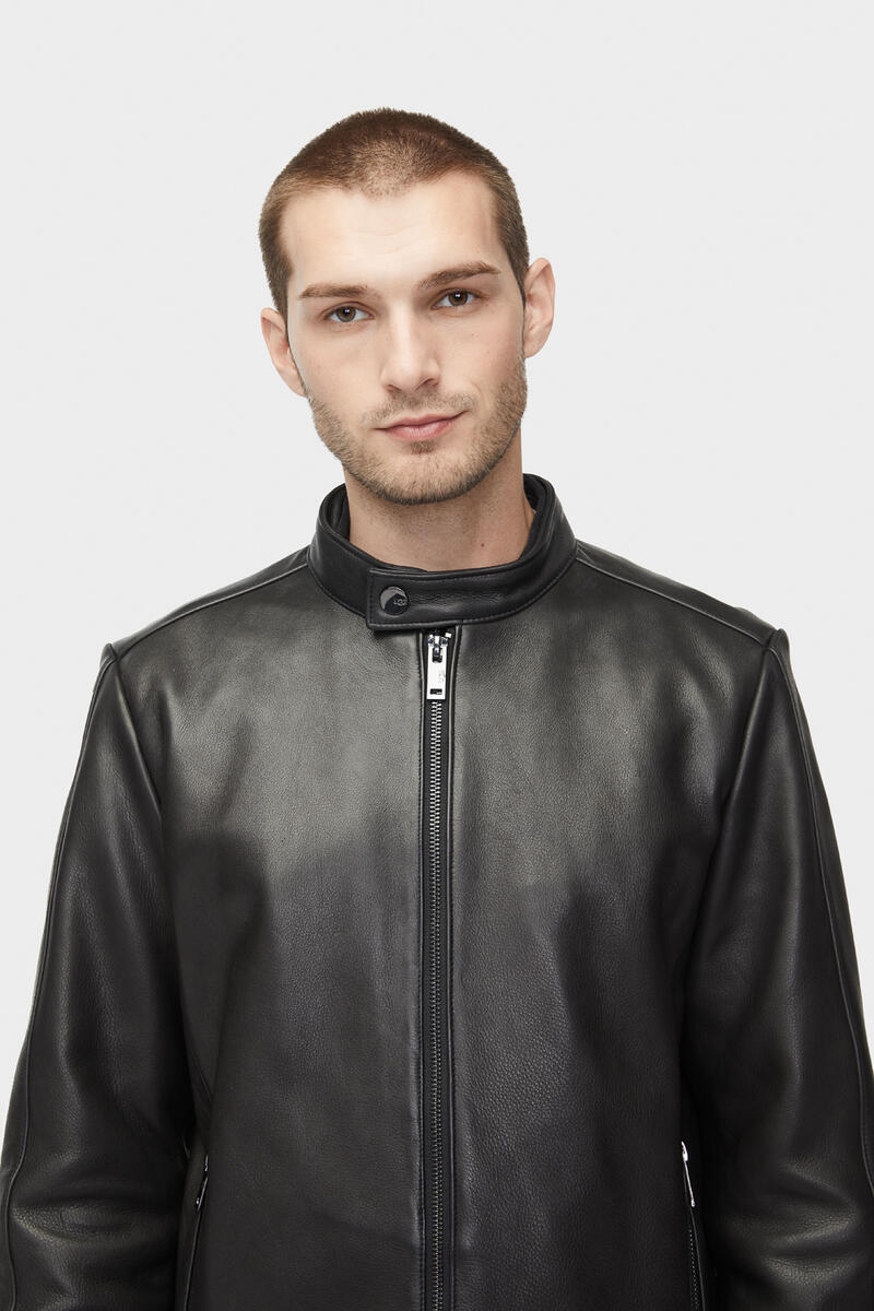 Orlando Leather Racer Jas