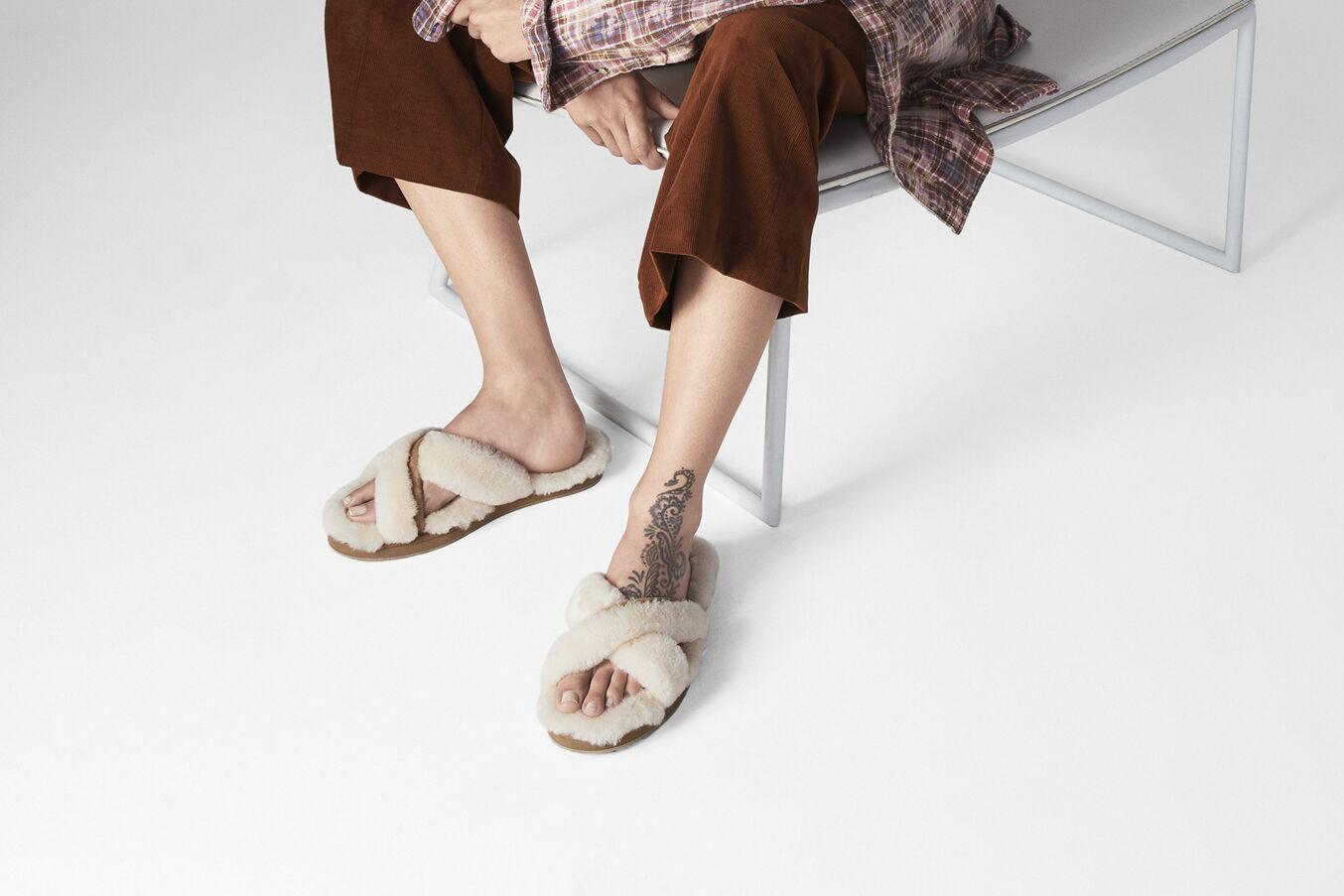 ugg femme nu pied
