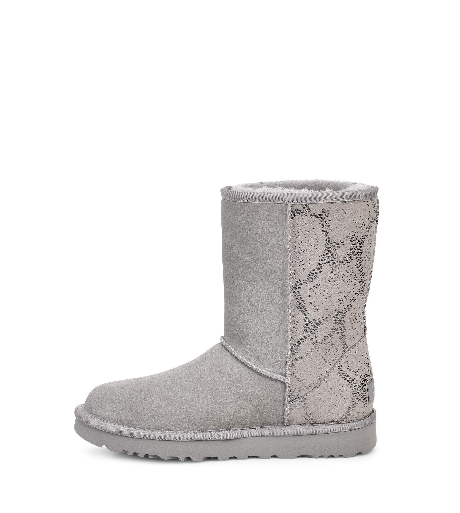 DamenDe Metallic Für Short Stiefel Snake Ugg® Classic f6g7Yby