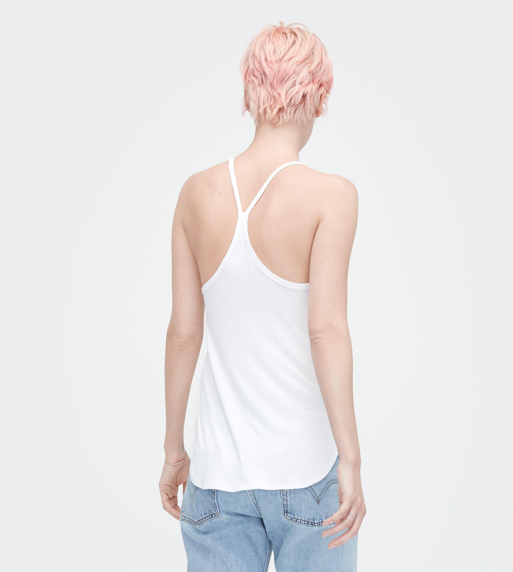 Eveline Rib Knit T Shirt