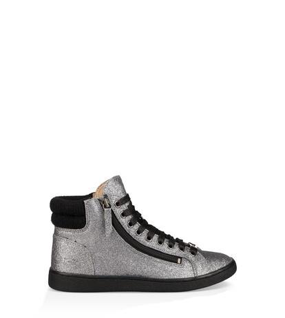 Olive Glitter Sneaker