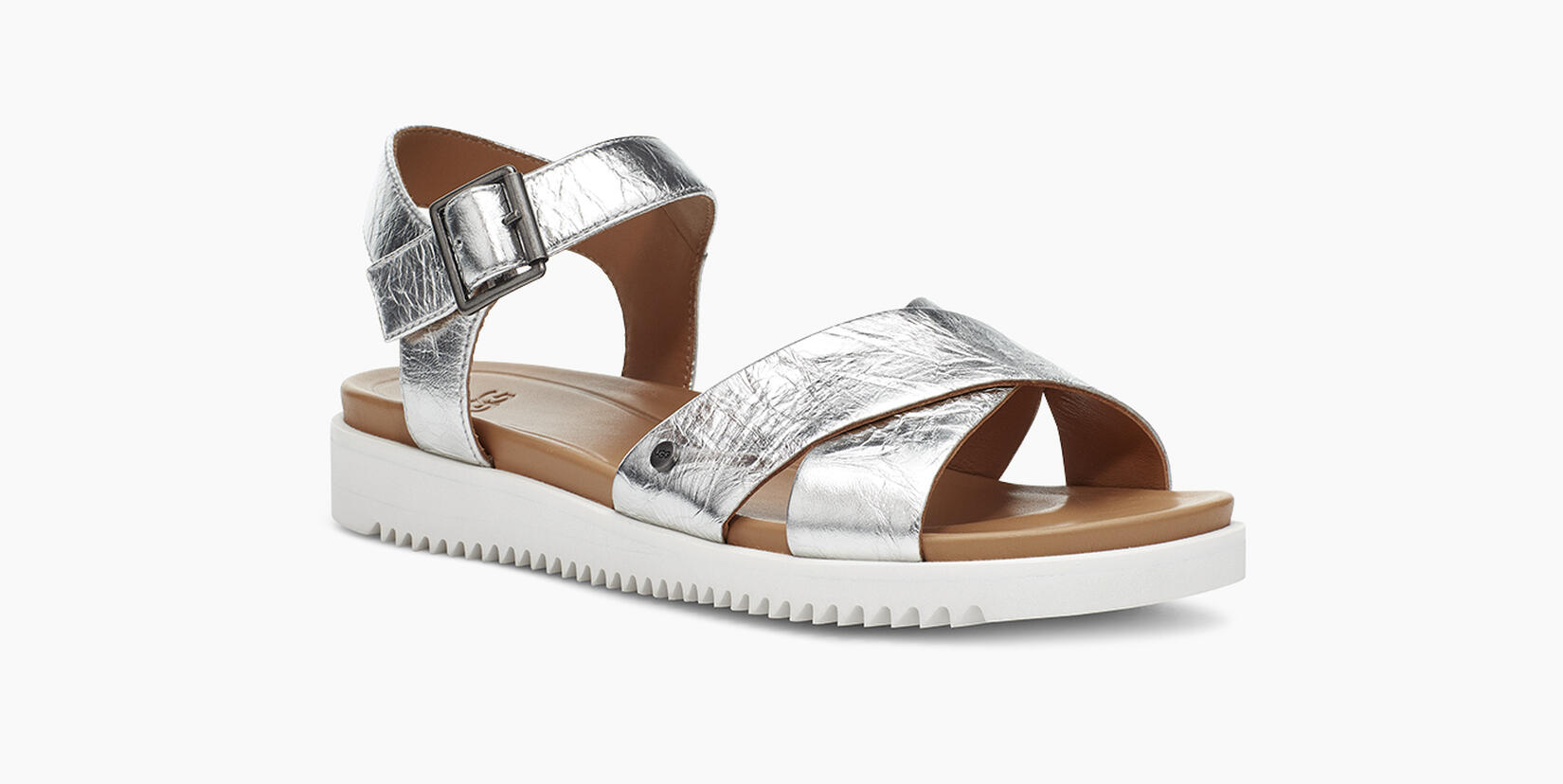 Zoie Metallic Sandal