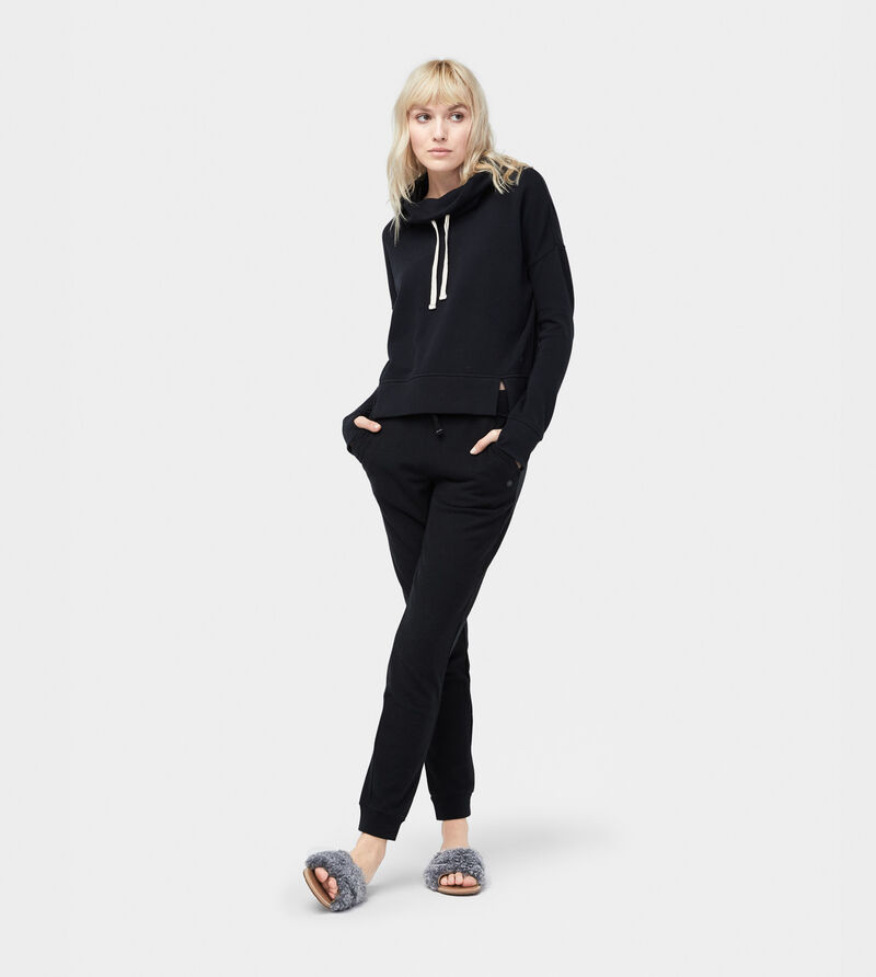 French Terry Miya Funnel Neck