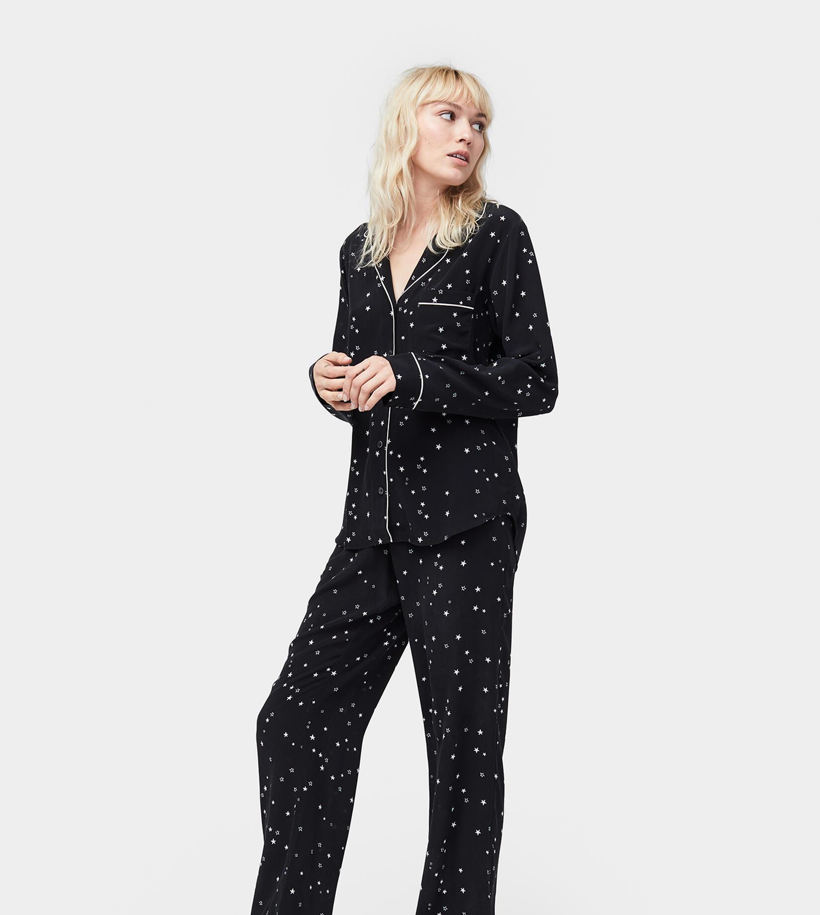 Raven Pyjama Set Silk