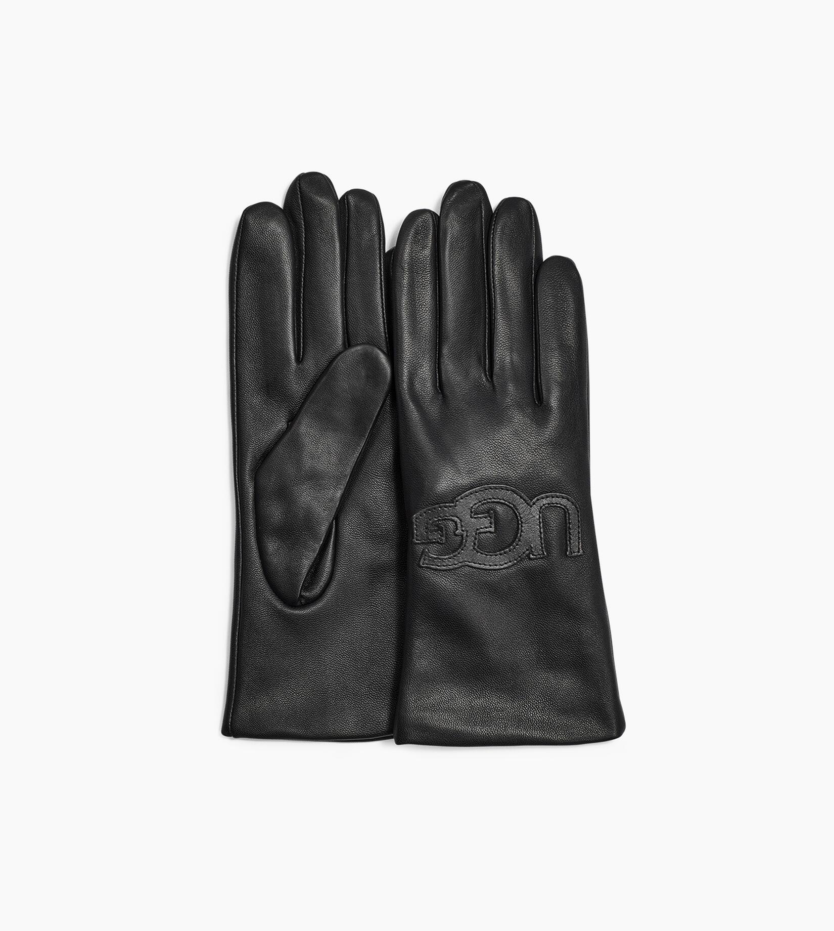 Leather Logo Glove