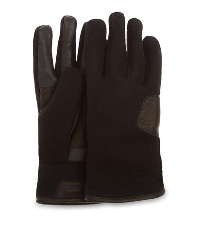 Fabric and Leather Glove