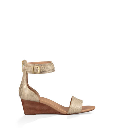 Char Metallic Wedge