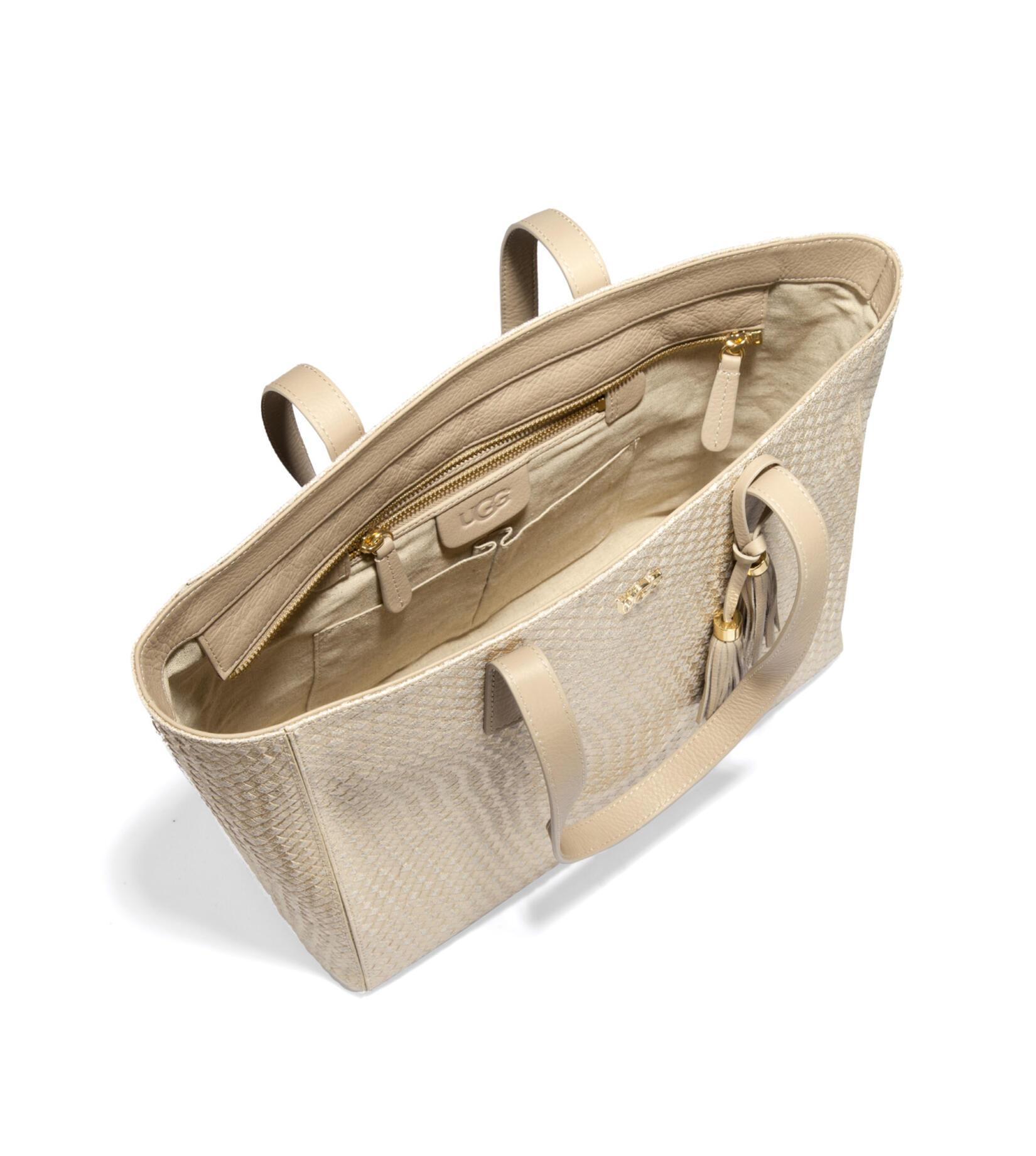 Rae Basket Weave Tote