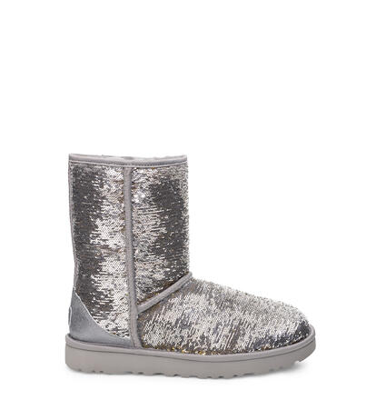Classic Short Cosmos Sequin Boot