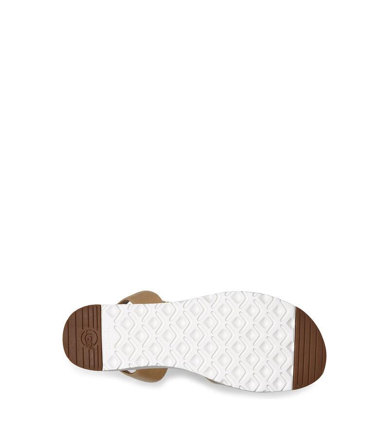 Tipton Metallic Platform Sandal