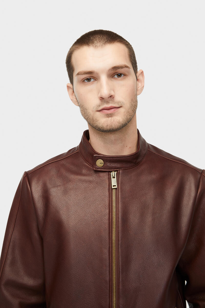 Orlando Leather Racer Jacket