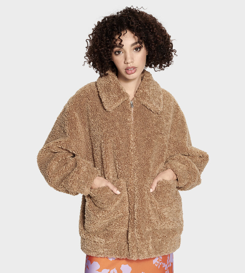 Kaley Teddy Bear Jacket