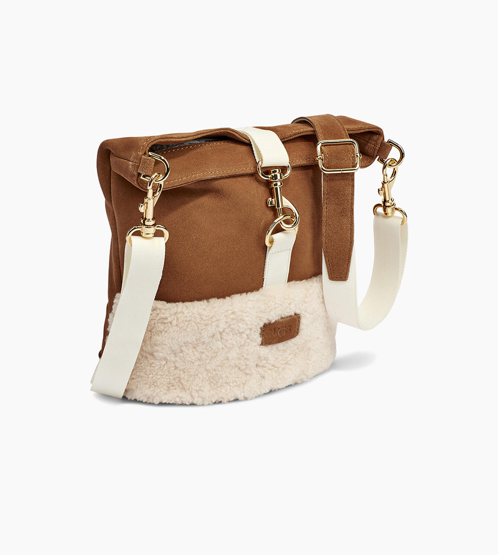 Emalyn Bucket Sheepskin Bag
