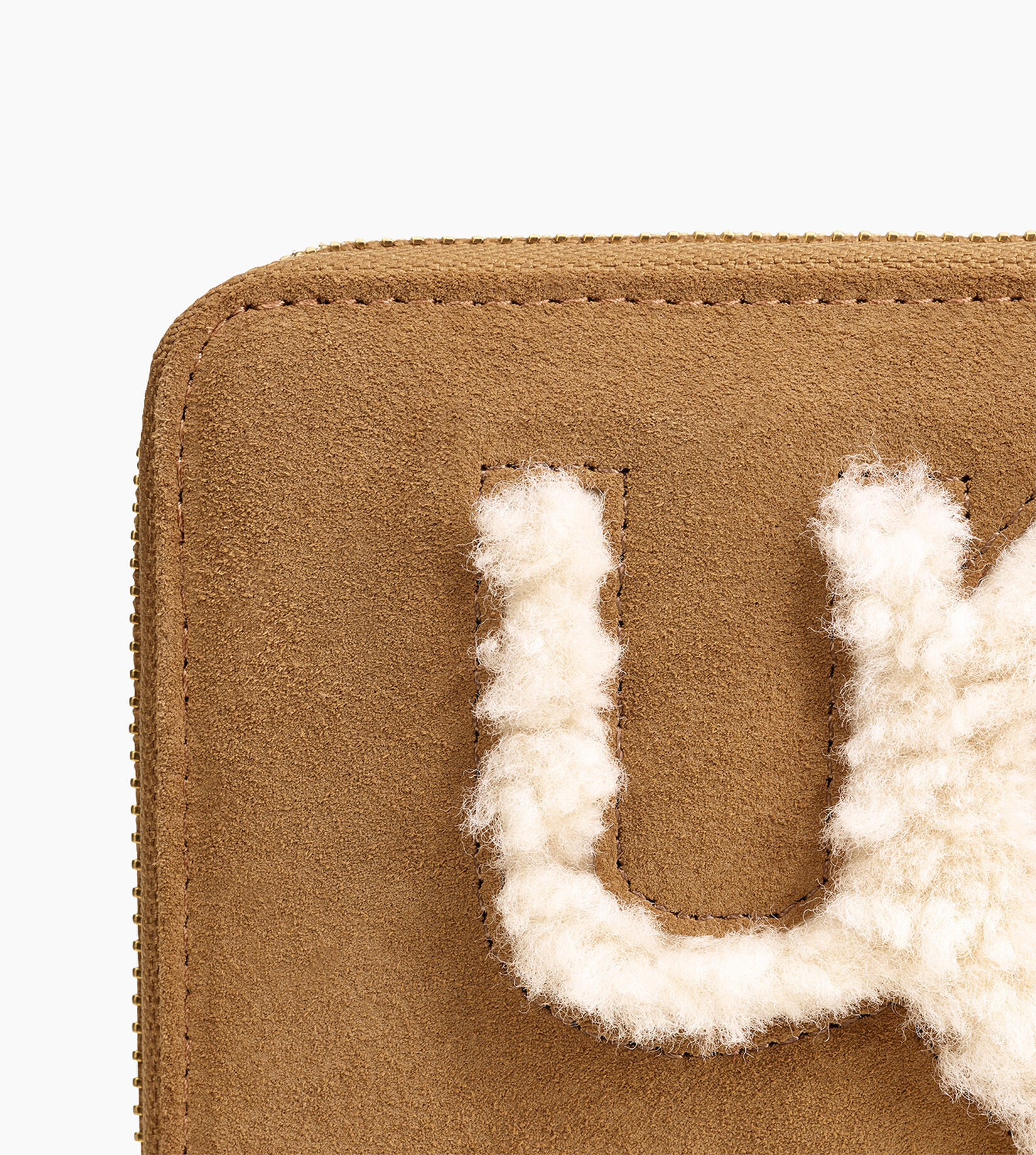 Honey Sheepskin Wallet