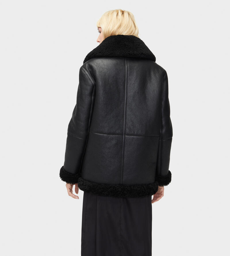 Arrabela Shearling Moto Jacket