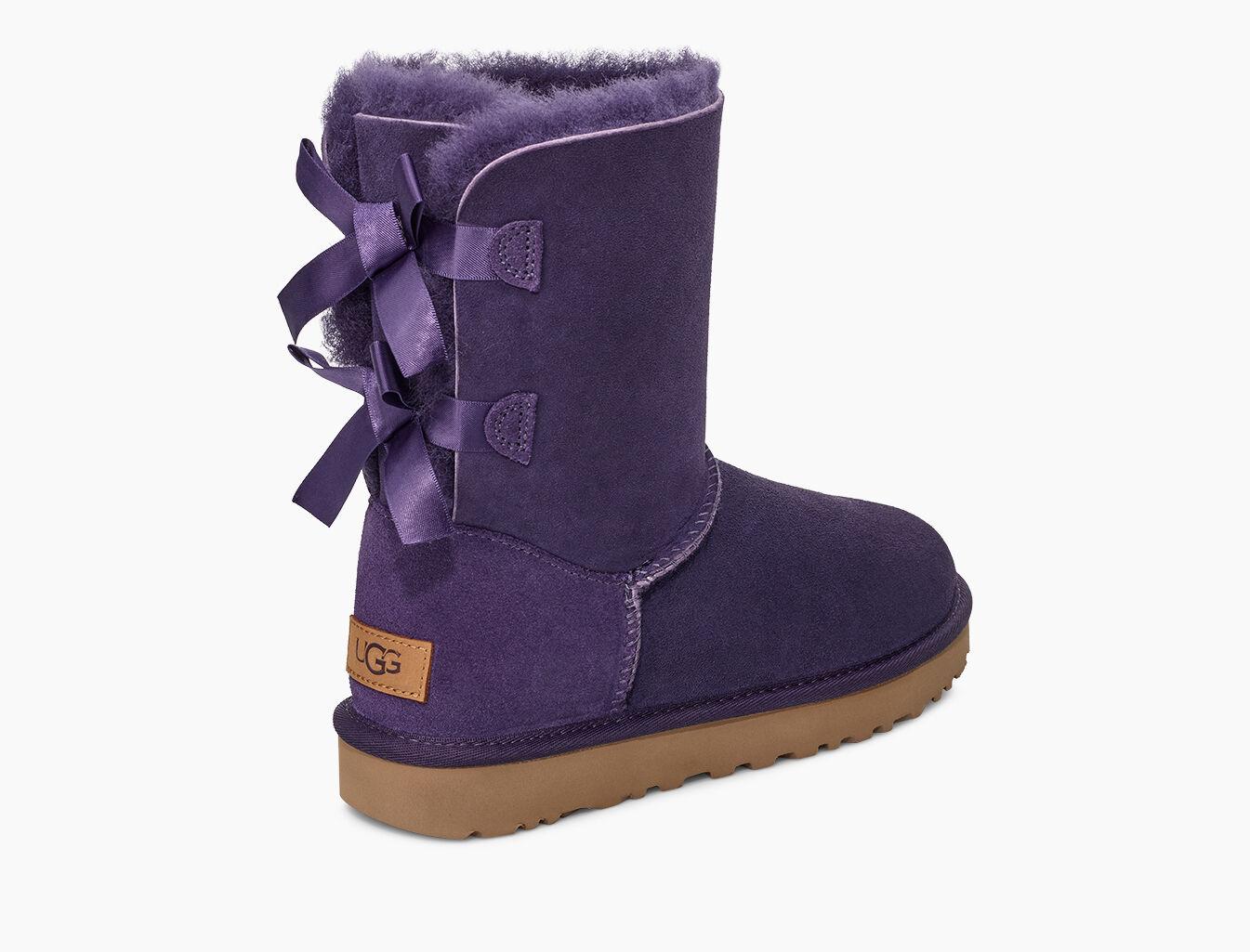 UGG Bailey Bow II 1016225 Grey Violet Botas para Mujer