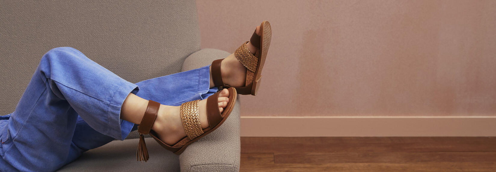 Marabel Metallic Sandal