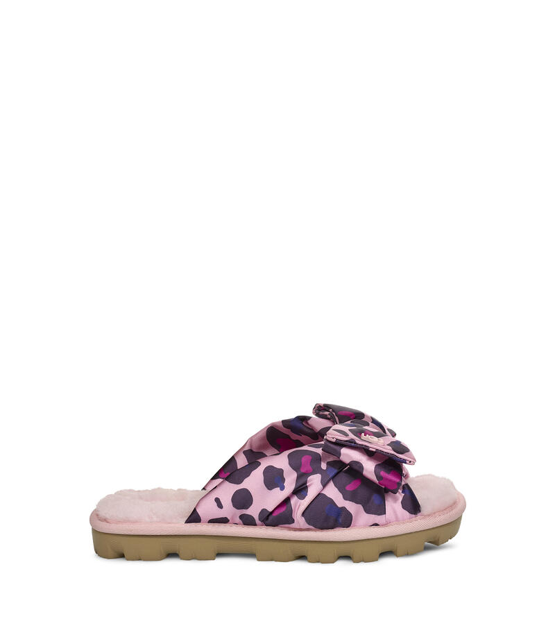 Lushette Leopard Puffer Slipper