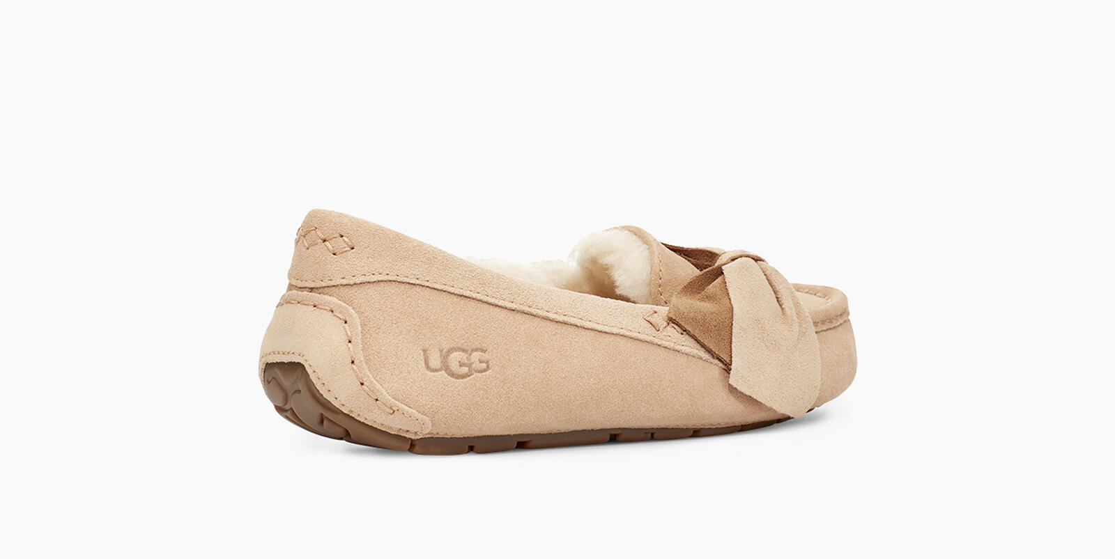 Ansley Two-Tone Bow Slipper