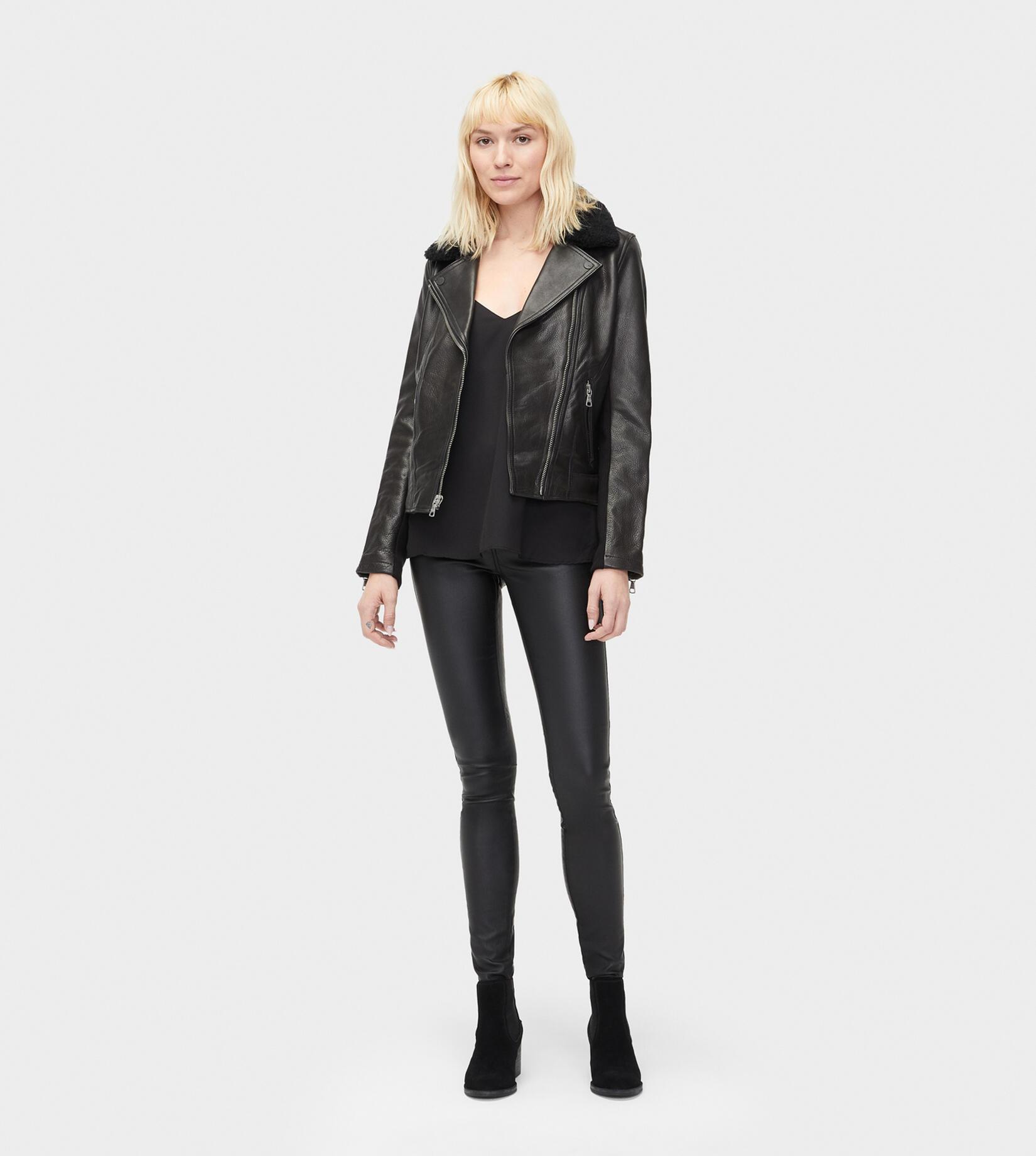 Andee Leather Cycle Jacket