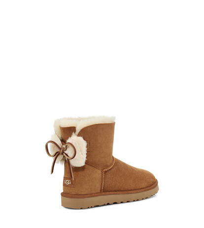 Classic Double Bow Mini Boot