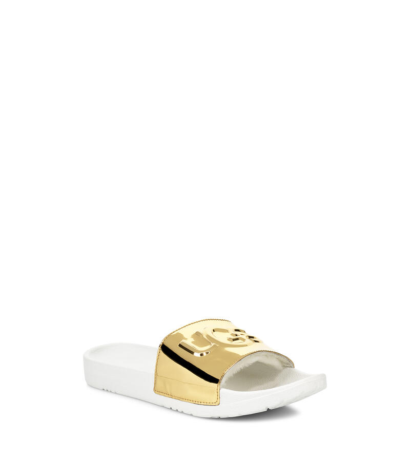 Royale Graphic Metallic Sandales à Enfiler