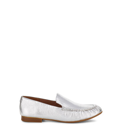 Vivian Metallic Leather Loafer
