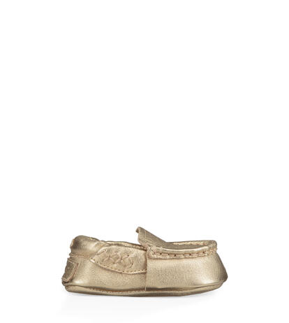 Sivia Metallic Moccasin