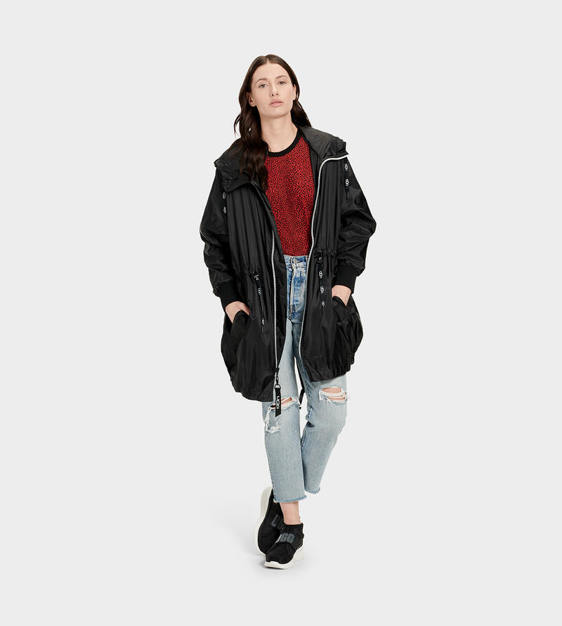 Brittany Hooded Anorak