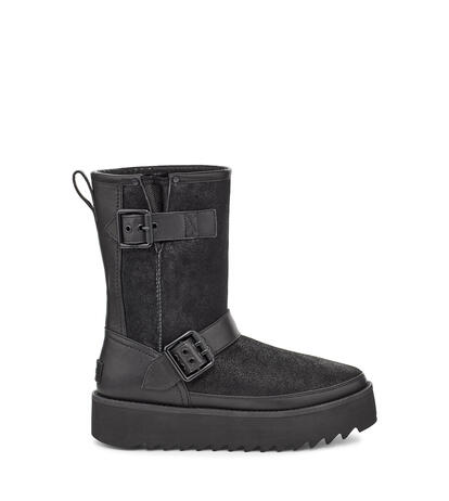 Classic Rebel Biker Short Boot