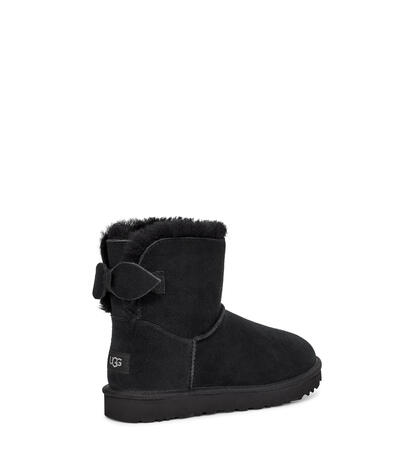 Suede Bow Mini Boot