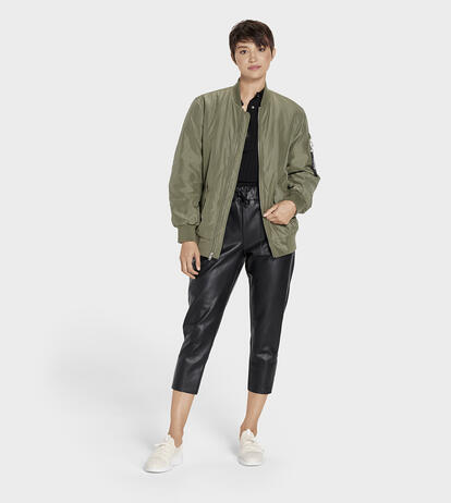 Frances Oversized Bomber