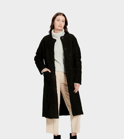 Remy Reversible Shearling  Jacke