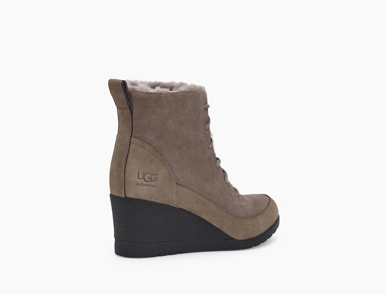 Bridgit Waterproof Suede Boot
