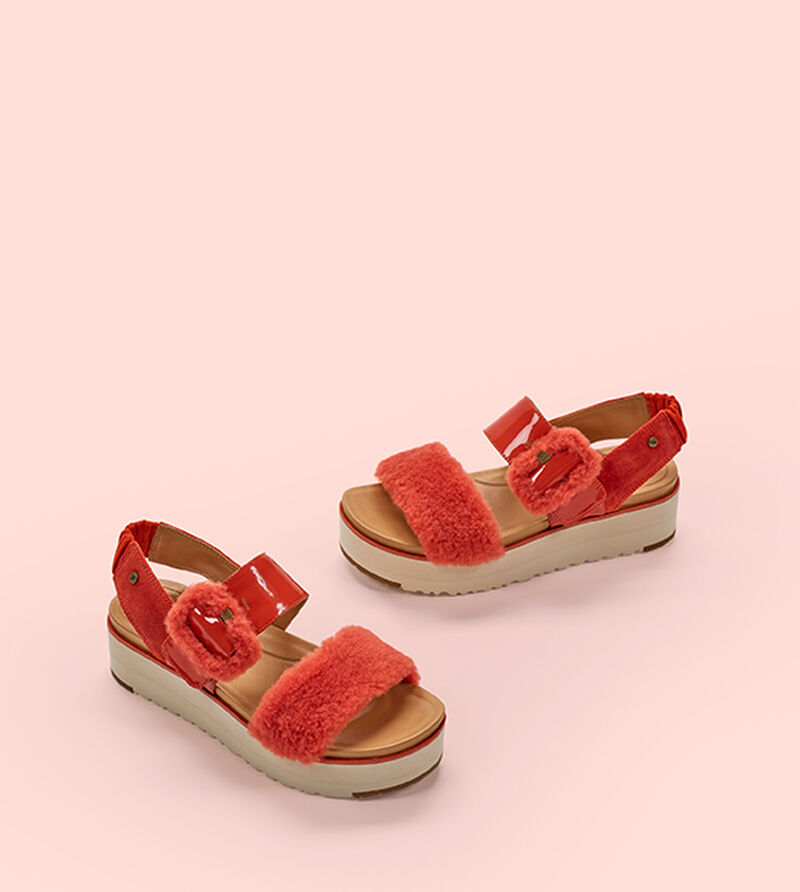 2a71979629 UGG® Fluff Chella Sandal for Women | UGG® Cyprus