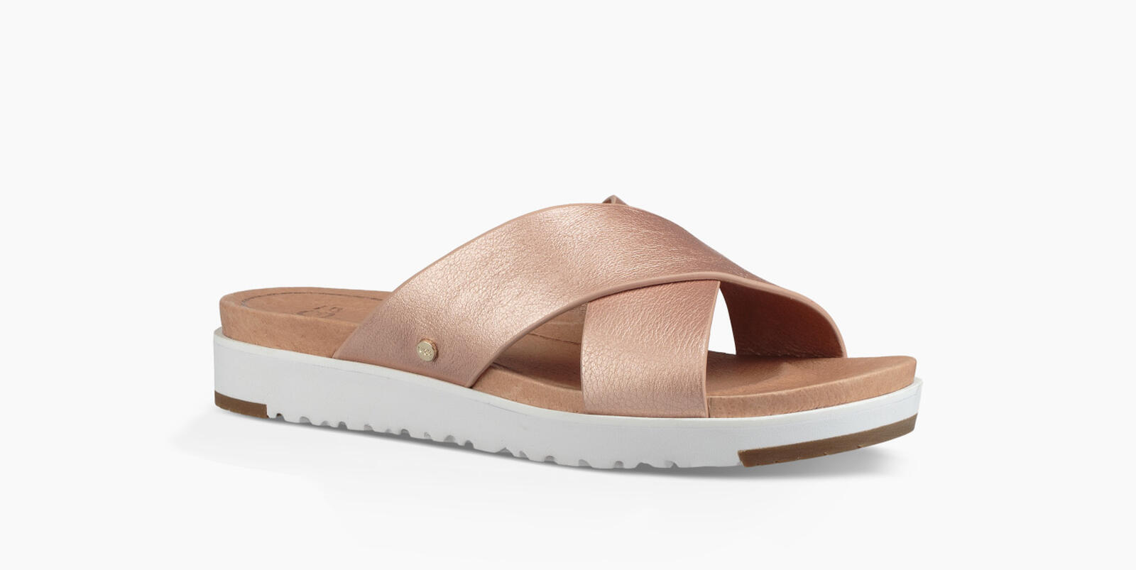 Kari Metallic Sandales à Enfiler
